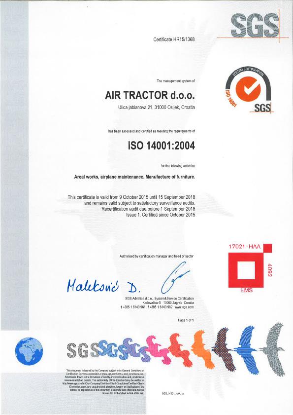 air-tractor-iso-14001-2004-kvaliteta-engleski